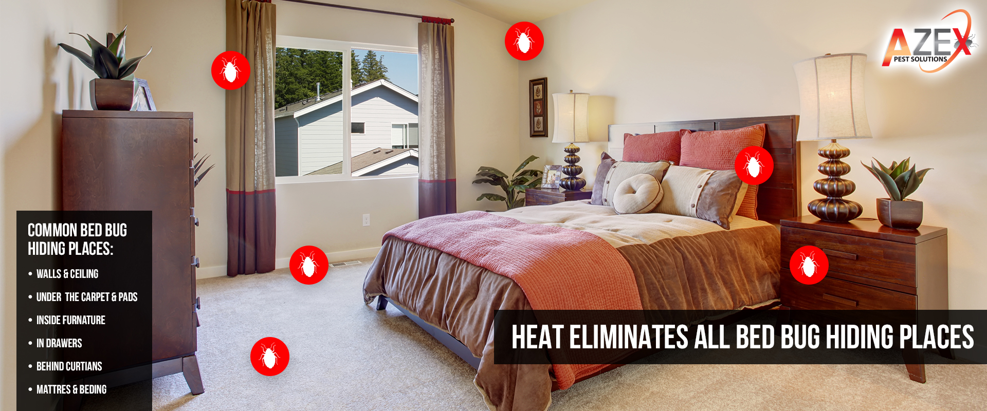 Bed Bug Heat Treatments Azex Pest Solutions Pest Bed Bug