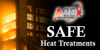 Safe Heat treatments | AZEX Pest Arizona